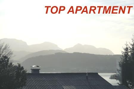 Gmunden, ruhige Whg., Blick zum See - Gmunden - 아파트