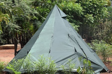 A great space for camping near Lake Chala