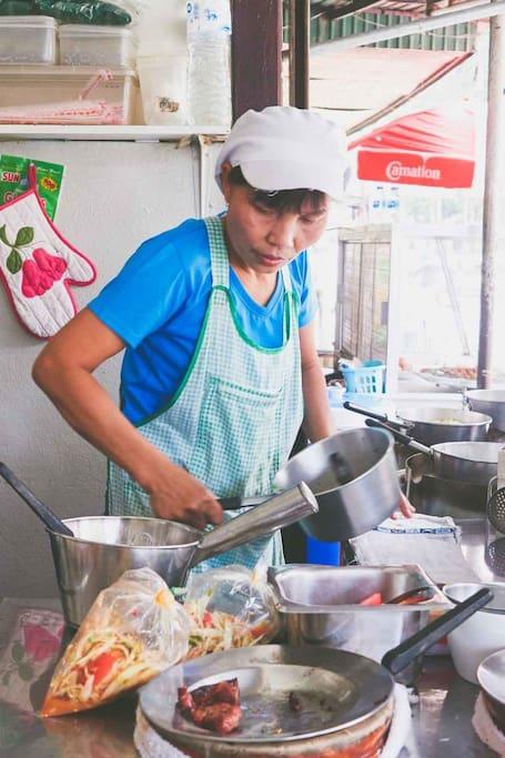 Issan Food Vendor