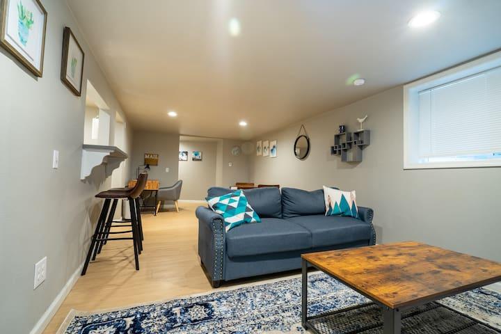 Homey Basement Apartment