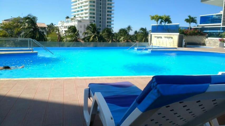 Apto Edificio tayrona Beach. - Santa Marta - Flat