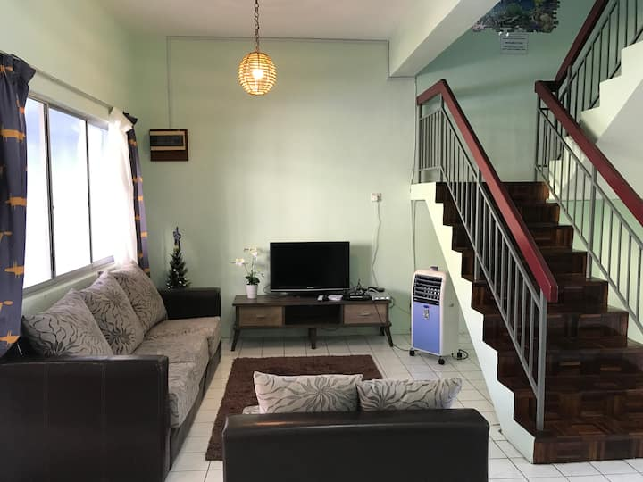 2sty Hse,Sri Kepayan near KK, Airport, Hospital.