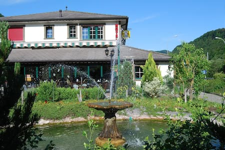 Hotel-Restaurant Le Cavalier - Soyhières - Aamiaismajoitus