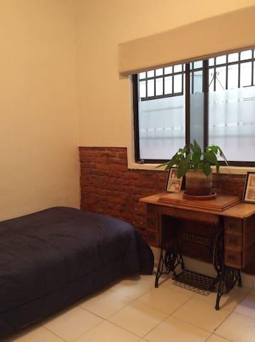 Cozy chamber / Acogedora habitación - Ciudad de México - Apartment