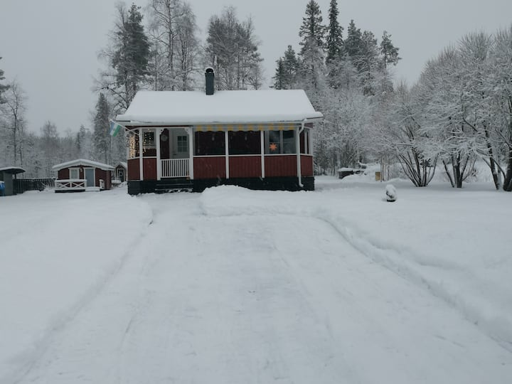 Cabin 30km east of Östersund