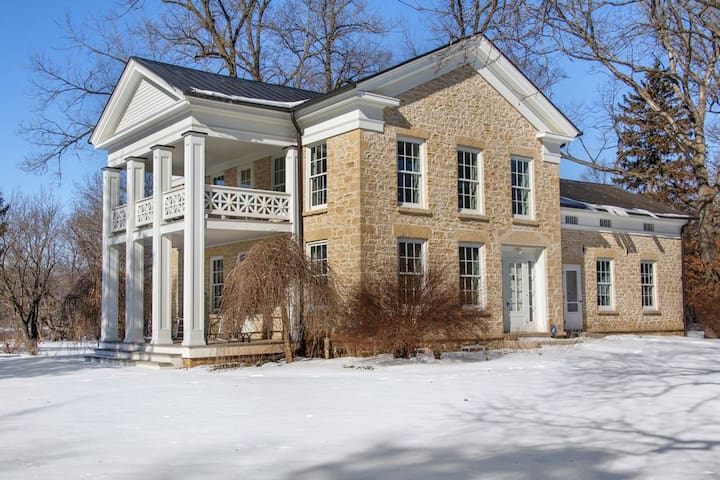 1855 Limestone Home on the Rock River