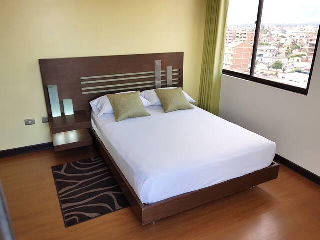 Cozy apartment with panoramic views