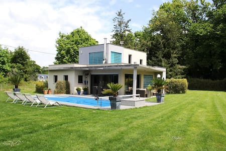 Maison d'architecte vous accueille au calme. - Redon - Vila
