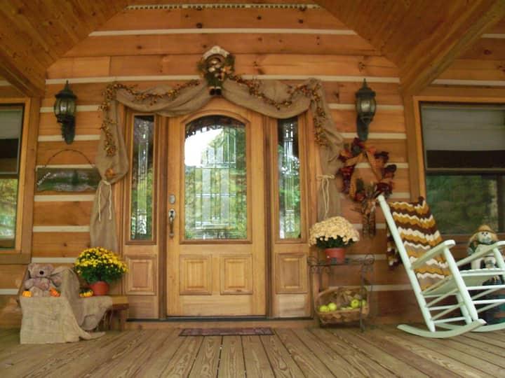 Luxurious Peaceful Mountain Cabin