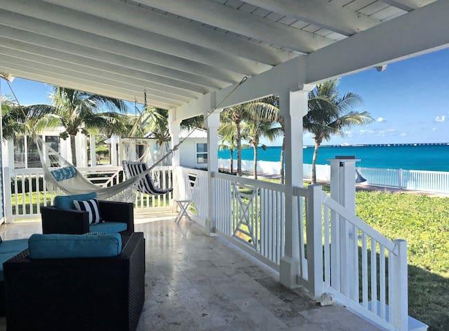 Cozy Beach Front Home at Bimini Bay Resort