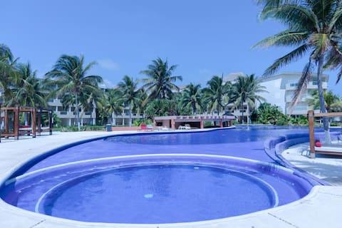 Condominio frente al Mar Caribe