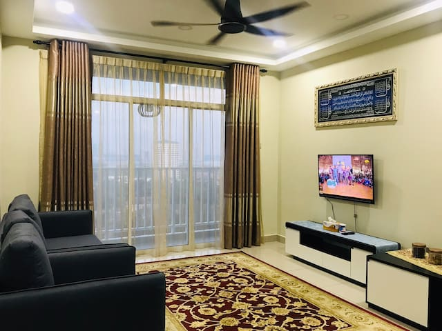 comfortable 2bed 2bath- twin danga apartment JB