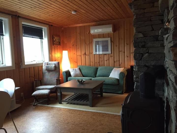 Koselig leilighet med ski in/ski out