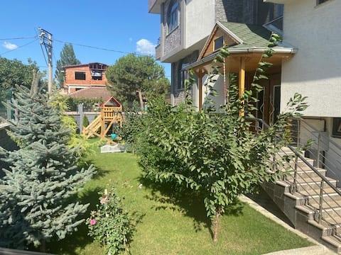 Cozy 180 sqm duplex with big terrace garden&pool