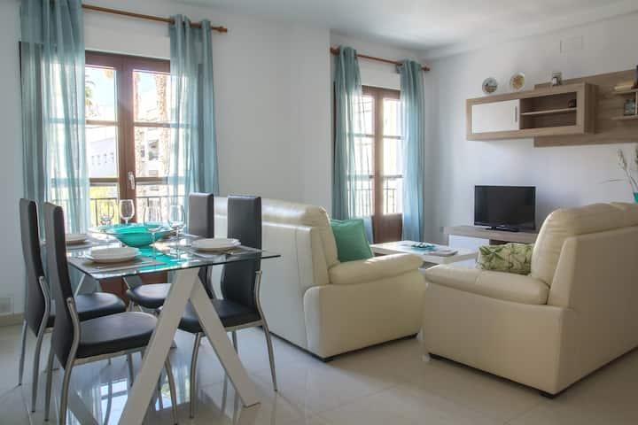 Apartamento muy luminoso en el centro de Almuñecar