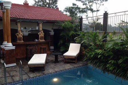 Villa Belanda rust en privacy new! - Wlingi - Huis