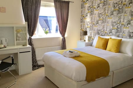 Bright Large Rm with Breakfast Nr Cranfield and OU