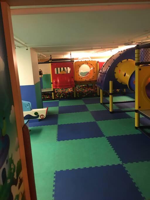 兒童遊戲室,住戶免費使用