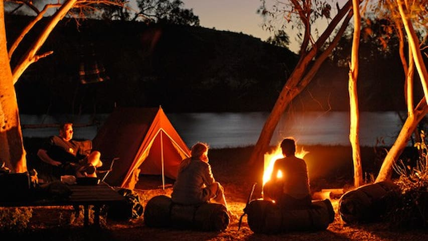 Lake side water touch Camping - Ambegaon - Tent