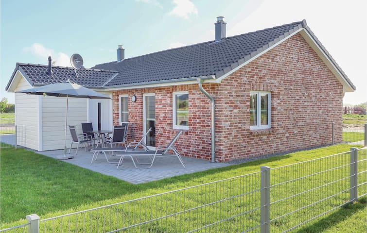 Semi-Detached with 1 bedroom on 50m² in Dagebüll