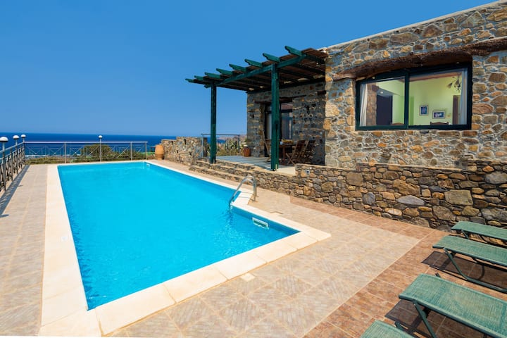 Amazing Sunset Views +Private Pool near Elafonissi