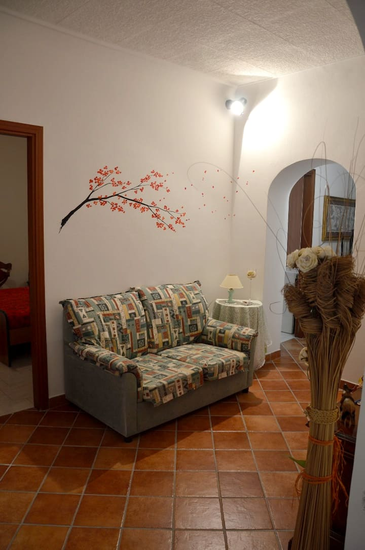 Apartment with 2 bedrooms in Caltagirone, with wonderful city view, furnished balcony and WiFi