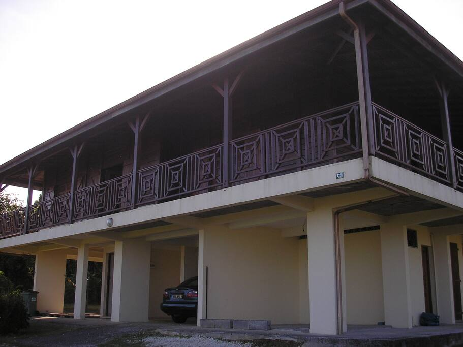 façade derriere
