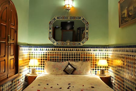 Riad Lakhdar, room Smahan..! - Marrakesh