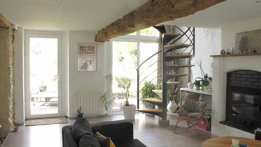 Maison avec jardin à Bourg-des-Comptes - Bourg-des-Comptes - Huis