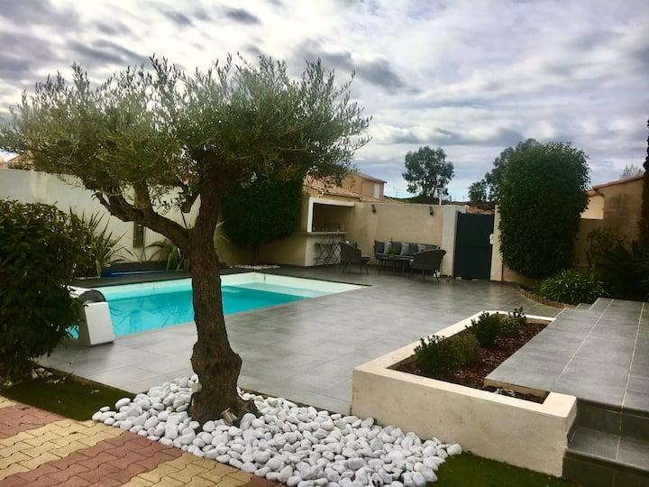 Villa Douce Vague - 145M2 + 4CHB + piscine