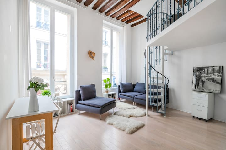 Romantic flat in the heart of Paris