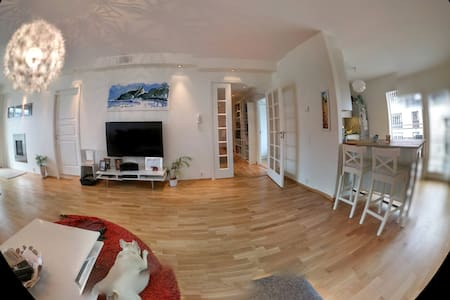 Spacious apartment in Fornebu with a great veiw - Fornebu - Wohnung