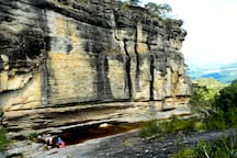 Parque Estadual de Ibitipoca: Lago das Miragens. A casa fica há 5 km do parque.