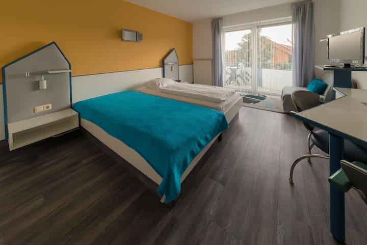 Hotelpension Gästehaus Birgit (Markelsheim), Einzelzimmer Comfort (Doppelzimmer als Einzelzimmer)