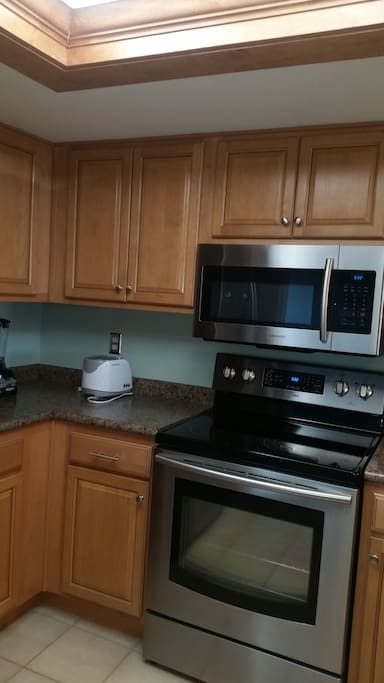 Fully equipped kitchen, with QUIET dishwasher