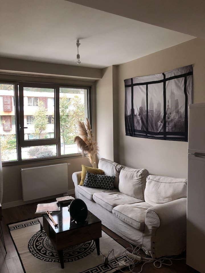 Nef Inistanbul 1+1 Luxury Residence, near Metro.
