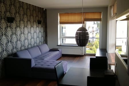 Modern style, two room appartment in Vilnius - ヴィルニアス - アパート