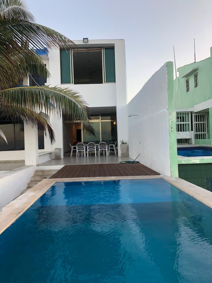 Casa Playa Progreso Ocean View