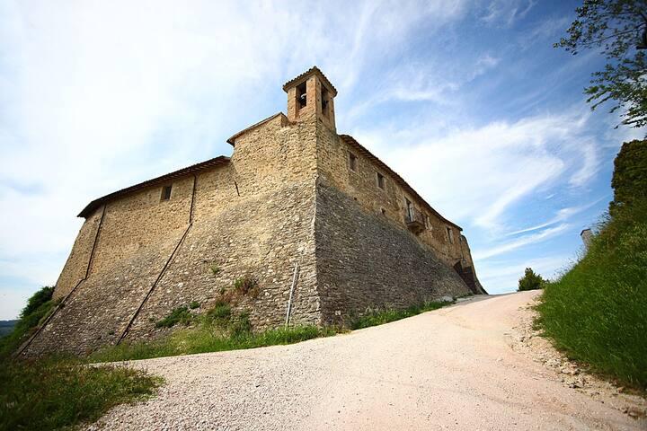 Bevagna - nel castello di Torre del Colle - Bevagna - Lägenhet