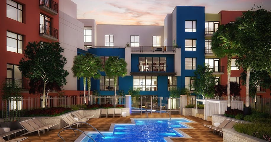 Modern 1 Bedroom Near Levi Stadium - San Jose - Apartemen