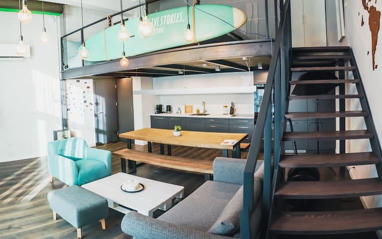 Riverside Loft Apartment