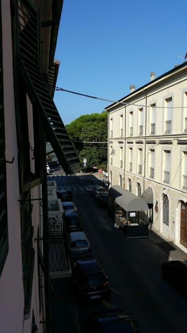 Vista  altro lato del balcone