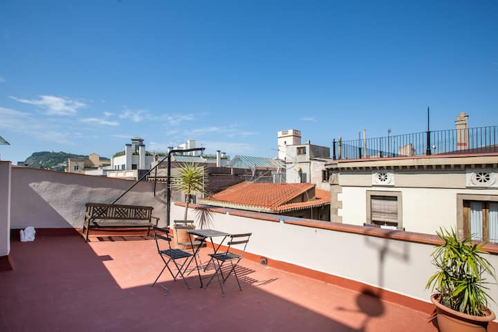 2BDR APARTMENT WITH WONDERFUL TERRACE