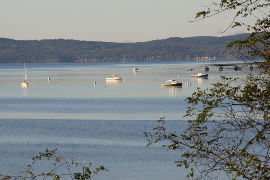 view of Searsport Harbor