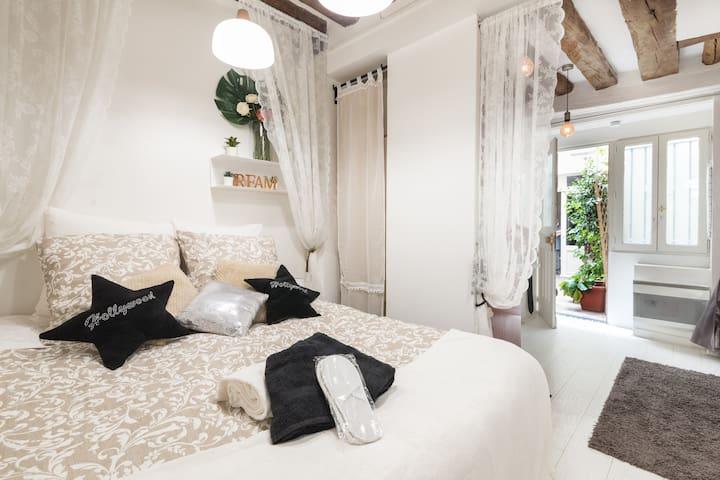 Appartement Romantique au Cœur de Paris