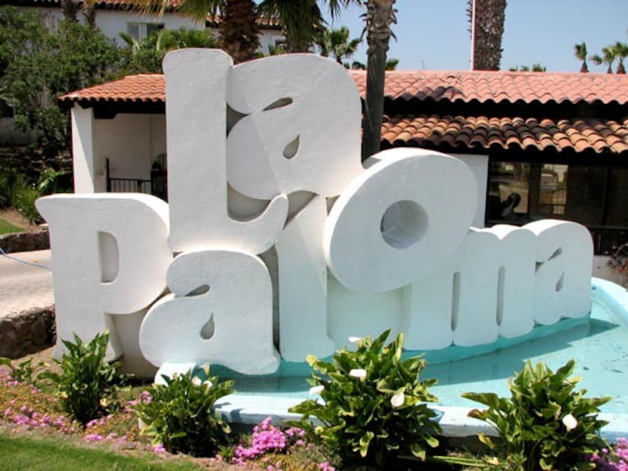 Entrance to La Paloma.