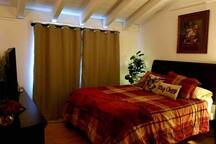 Guest Bedroom: With Blackout Curtains