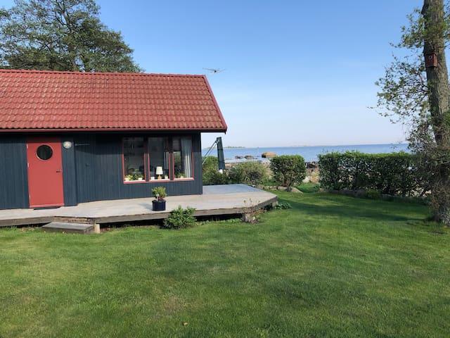 Stuga vid havet