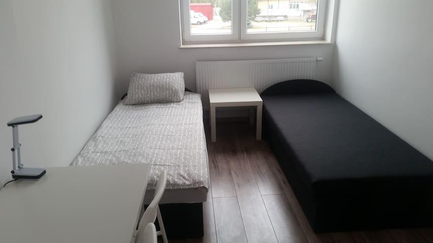 Hostel, Pokój 2 osobowy