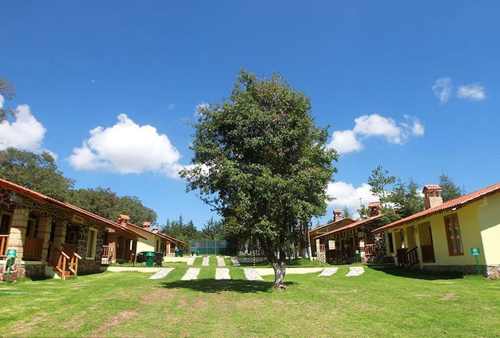 Cabaña Grande, Eco Parque del Marques